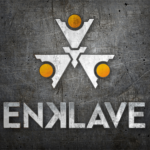 Enklave Logo Medium Grey